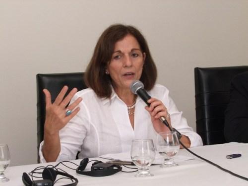 Ana Lúcia Sabóia, chefe da Divisão de Indicadores Sociais do Instituto IBGE, fez um histórico sobre o levantamento de indicadores sobre raça e etnia